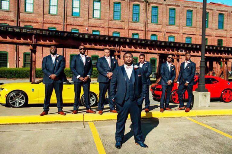 Celebrate Tuxedos Columbus Trade Center Navy  Tuxedos