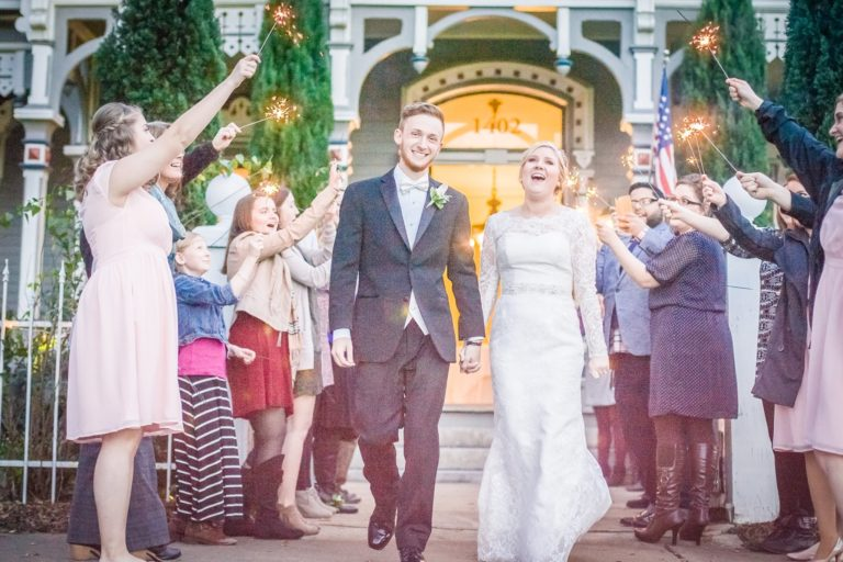 Celebrate Tuxedos Columbus GA Wedding Departure