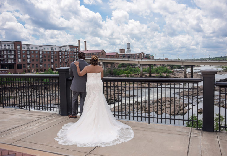 Uptown Columbus GA Wedding Photography