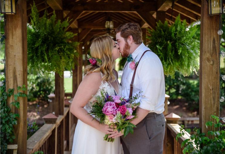 Wedding Kisses Oakhurst Farm