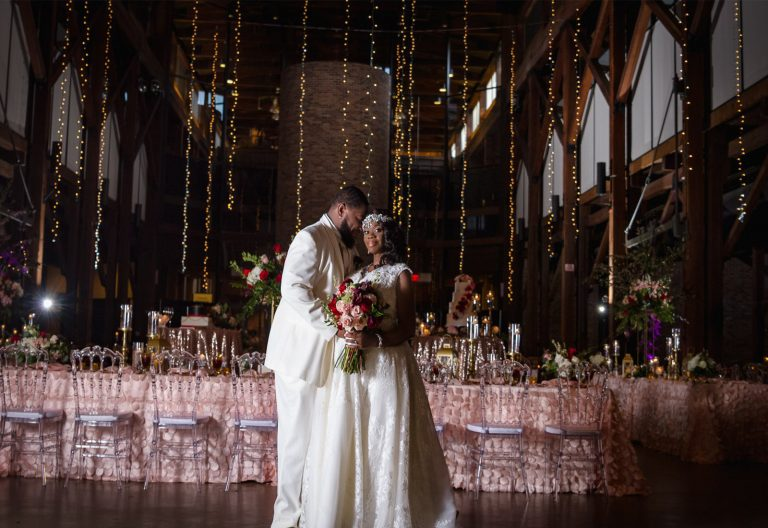 Columbus GA Trade Center Elegant Wedding