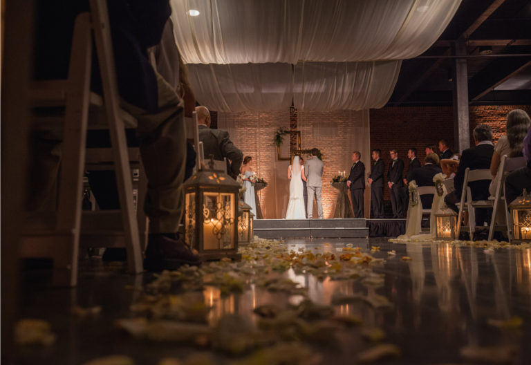 Columbus GA Trade Center Wedding Ceremony