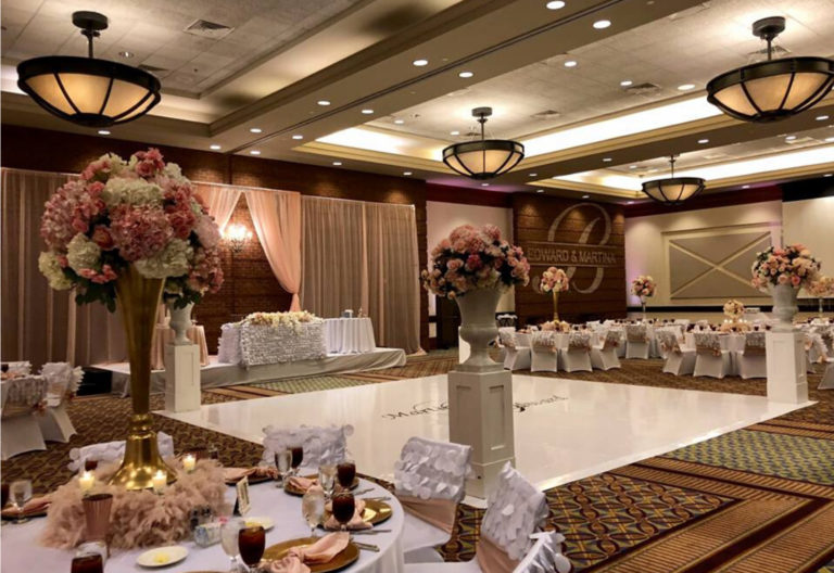 Columbus GA Trade Center Wedding Reception